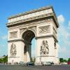 Beeindruckendes Bauwerk: Der Triumphbogen in Paris