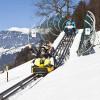 Auch im Winter kann man die 1.450 Meter lange Strecke ins Tal rodeln.
