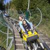 Der Arena Coaster bietet Rodelspaß für die gesamte Familie!