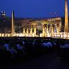 Pompöse Bühnenbilder sind Teil der Opernaufführungen in der Arena.
