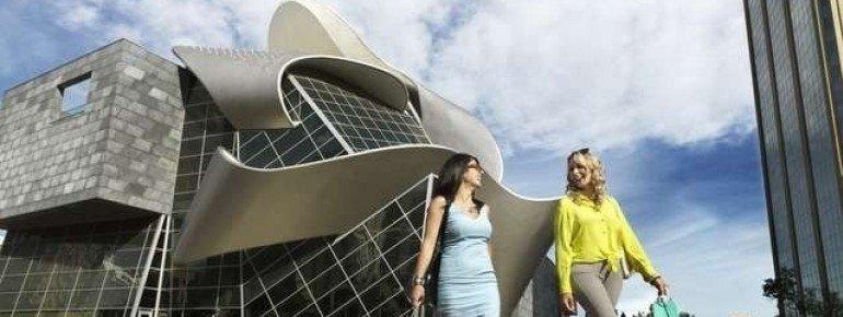 Das neue Gebäude der Art Gallery von Alberta