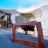 Innenhof der Skulpturenausstellung