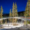 Der Breathtaker in den Abendstunden: An den Ullr Nights-Abenden hat der Alpine Coaster bis 20.30 Uhr geöffnet.