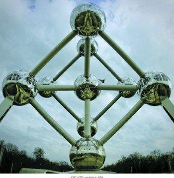 Erbaut wurde das Atomium zum Anlass der Weltausstellung 1958
