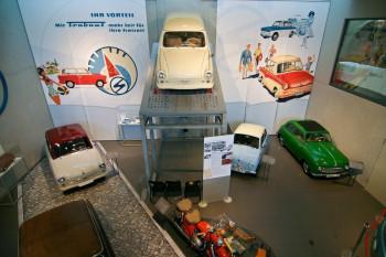 """Der """"Trabbi"""" wurde auch in Zwickau produziert - und darf im Museum nicht fehlen"""