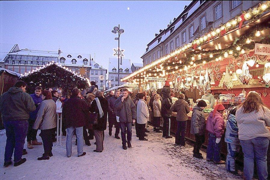 Bamberg Weihnachtsmarkt.Bamberger Weihnachtsmarkt Ausflugsziele Bamberg