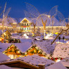 Lass dich verzaubern von der winterlichen Atmosphäre in Ludwigsburg.