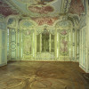 Das Bibliothek- und Gartenkabinett ist der einzige noch original erhaltene Saal des Schlosses.