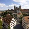 Die Basilika in Weingarten ist halb so groß wie der Petersdom und gilt damit als das größte barocke Gotteshaus nördlich der Alpen.