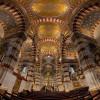 Deckenansicht in der Basilika