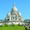 Die Basilika Sacré-Coeur liegt auf dem Montmartre mitten in Paris.