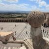 Von der Oberkirche aus hat man einen beeindruckenden Blick über die umbrische Landschaft