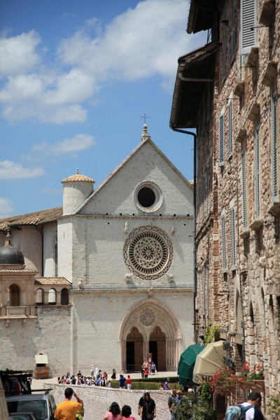 Basilika San Francesco in Assisi • Ausflugsziele Assisi