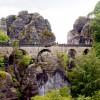 Die Basteibrücke ist über 70 Meter lang.