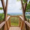 Bei Zwischenstops auf den Aussichtsplattformen kannst du die tolle Aussicht genießen.