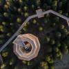 Insgesamt 1043 Meter lang ist der erste Baumwipfelpfad Sloweniens.