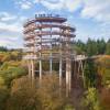 Der Aussichtsturm ist 42 Meter hoch.