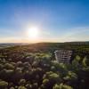 Auf dem Turm hast du eine tolle Aussicht über den Steigerwald.