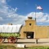 Das Fort war einer der wichtigsten Handelsposten im Südwesten der USA