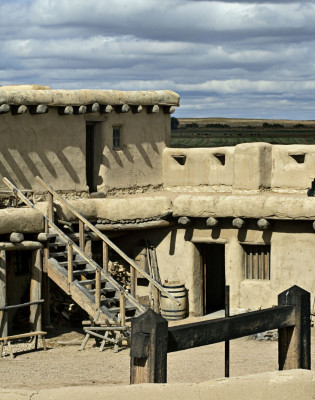 Das Fort war früher ein bedeutender Handelsplatz