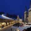 Schlossplatz beim Berchtesgadener Advent