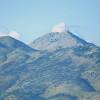 Der Blick von Osten auf den Berg