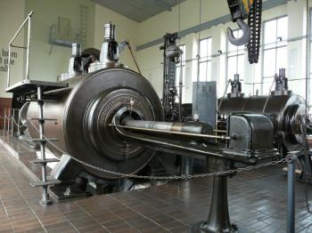 Die größte noch funktionierende Dampfmaschine Sachsens