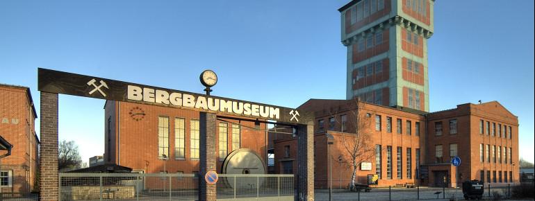 Das Museum befindet sich in der ehemaligen Förderanlage