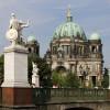 Blick von der Schloßbrücke auf den Dom