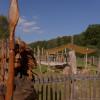 Auf dem Spielplatz Keltenwiese können sich Kinder austoben.