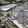 In unmittelbarer Nähe liegen BMW Welt, BMW Museum, BWM Werk und Konzernzentrale.