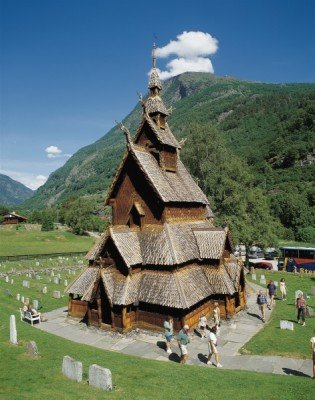 Die Stabkirche Borgund