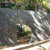 Skulptur im Botanischen Garten Wellington