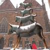 Auch im Winter sind die Stadtmusikanten einen Besuch wert.