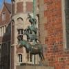 Die Bremer Stadtmusikanten befinden sich am Rathaus.