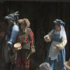 Die Aufführung des Theaterspiels Die Bremer Stadtmusikanten auf dem Domshof ist kostenlos.