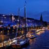 Direkt an der Weser gelegen herrscht auf dem Schlachte-Zauber winterlich maritimes Flair.