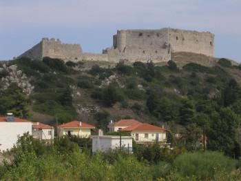 Die Burg von Unten