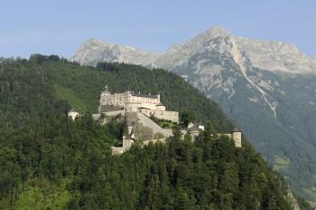 Die Burg Hohenwerfen gilt als eines der besterhaltendsten Bauwerke des späten Mittelalters.