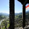 Die Festung Hohenwerfen liegt inmitten der nördlichen Kalkalpen im Pongau.