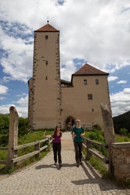 Burg Trausnitz im Tal zählt zu den schönsten Burgen in ganz Bayern