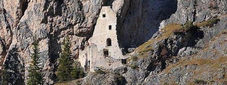 Die Burgruine Wolkenstein