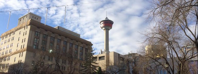 Mit seiner beachtlichen Größe von 190,8 Metern ist der Calgary Tower eines der größten Bauwerke Kanadas.
