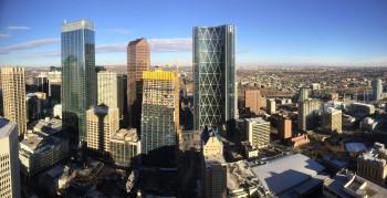 Vom Tower aus bietet sich ein einzigartiger Blick über die Skyline der Stadt.