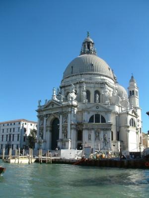 Die Kirche Santa Maria della Salute