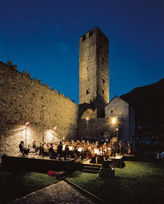 Die Burg bietet auch für Veranstaltungen eine tolle Atmosphäre