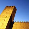 Die beiden Türme prägen das Bild von Castelgrande.