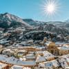 Der Blick von Castelgrande über Bellinzona ist atemberaubend.