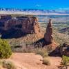 Markante Felsformationen: Das Colorado National Monument