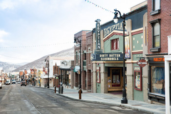 Die historische Main Street in Park City.